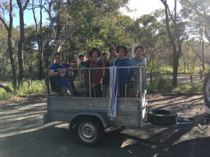 How leaders would like to transport our Scouts at times...
